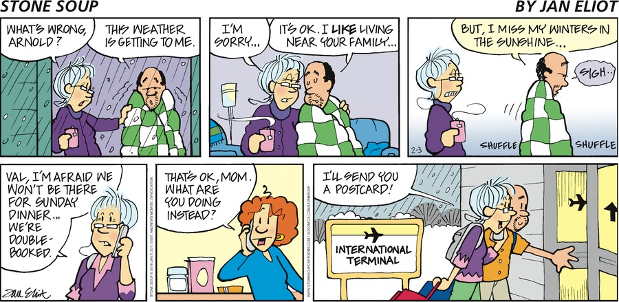Stone Soup Comic Strip for February 03, 2019
