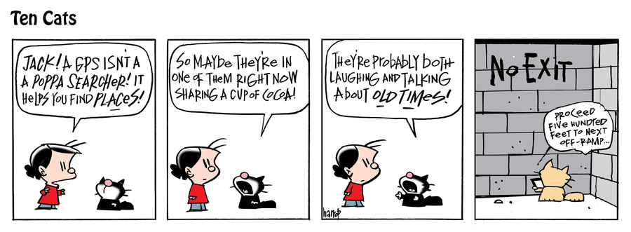 Ten Cats Comic Strip for June 11, 2021