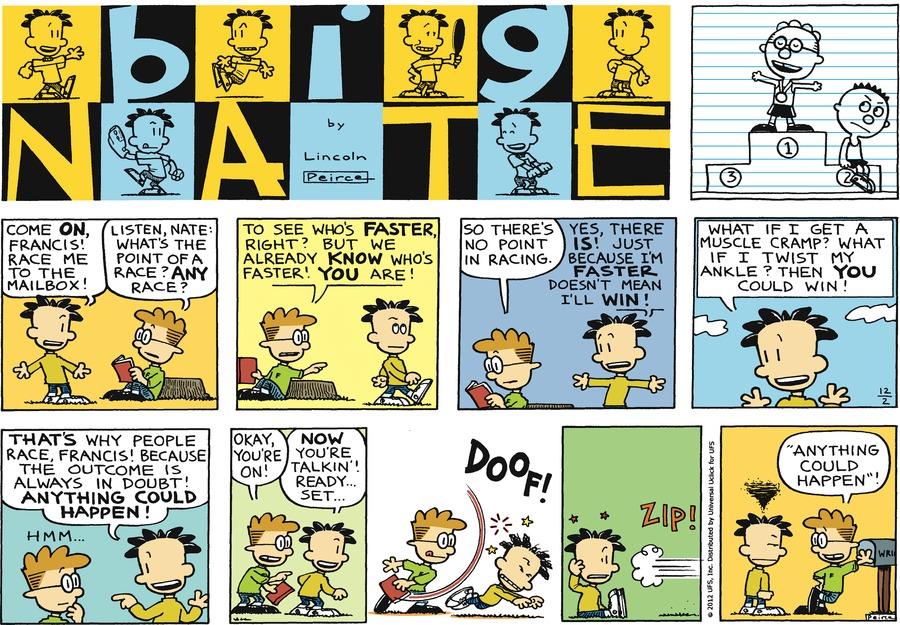Big Nate Comic Strip for December 02, 2012