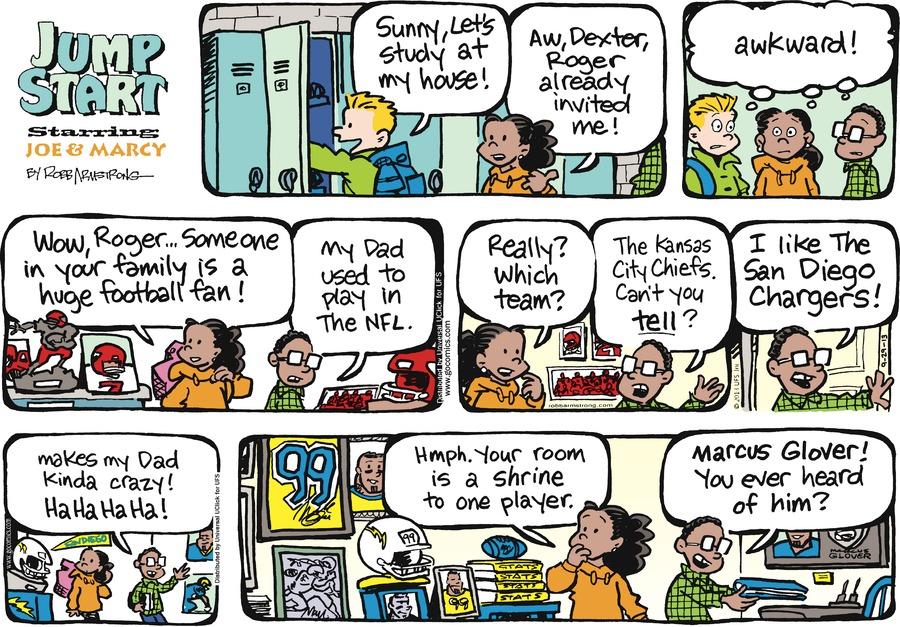 JumpStart for Sep 29, 2013 Comic Strip