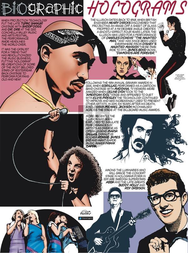 Biographic - Sunday June 9, 2019 Comic Strip