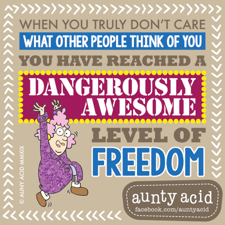 Aunty Acid by Ged Backland for January 21, 2019