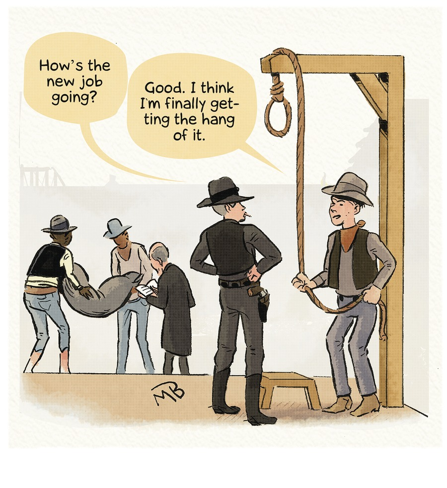 Western hanging