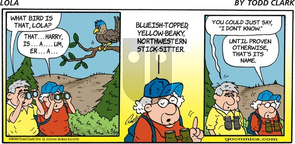 Lola on Sunday May 24, 2020 Comic Strip