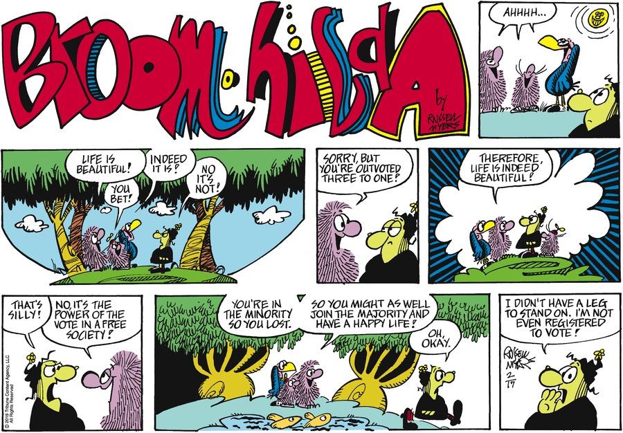 Broom Hilda Comic Strip for February 17, 2019