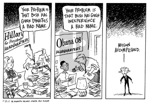 Tony Auth on Sunday October 28, 2007 Comic Strip