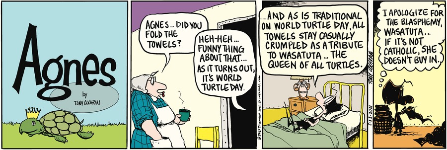 Agnes by Tony Cochran on Sun, 23 May 2021