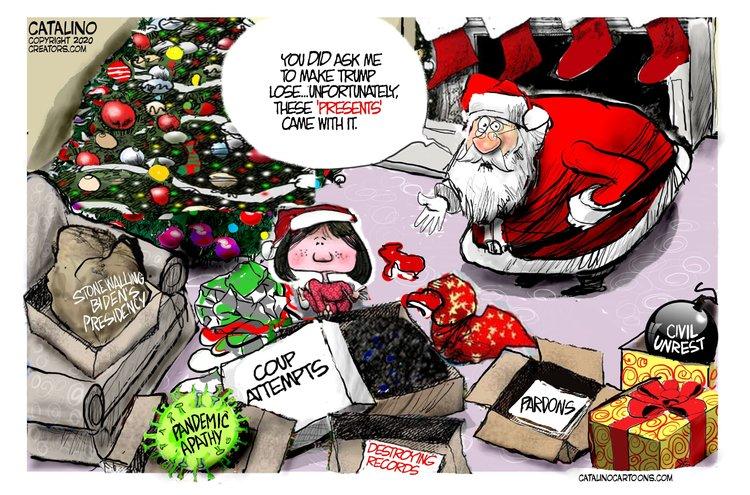 Ken Catalino Comic Strip for December 24, 2020