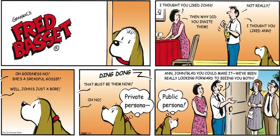 Fred Basset Comic Strip for September 29, 2013