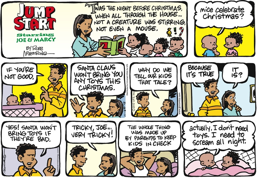 JumpStart for Nov 25, 2012 Comic Strip