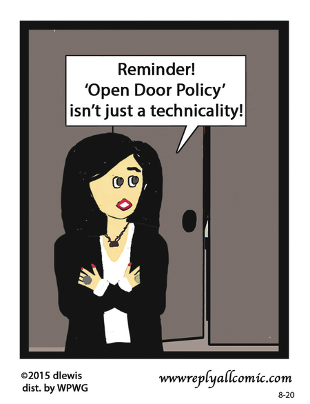 Reply All Lite Comic Strip for August 20, 2015