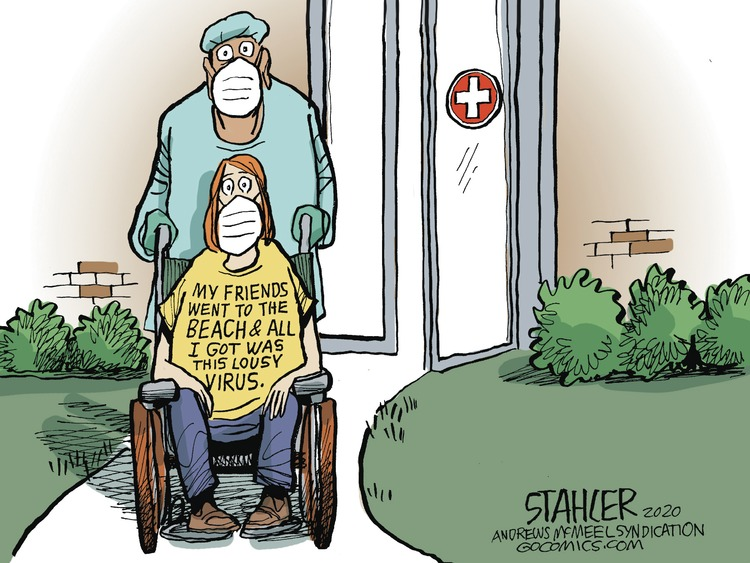 Jeff Stahler Comic Strip for July 19, 2020