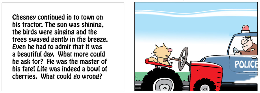 Ten Cats Comic Strip for July 04, 2020