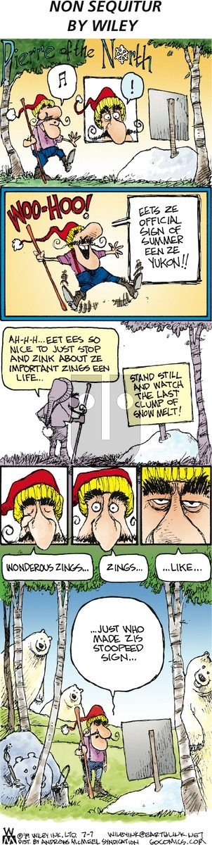 Non Sequitur on Sunday July 7, 2019 Comic Strip