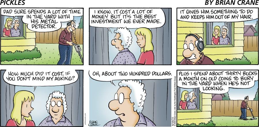 Pickles Comic Strip for September 19, 2021