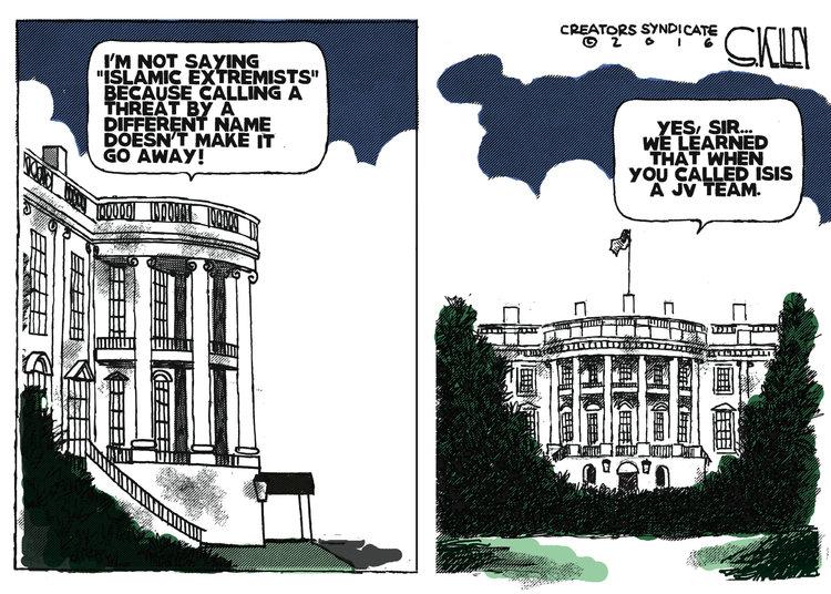 Steve Kelley Comic Strip for June 16, 2016