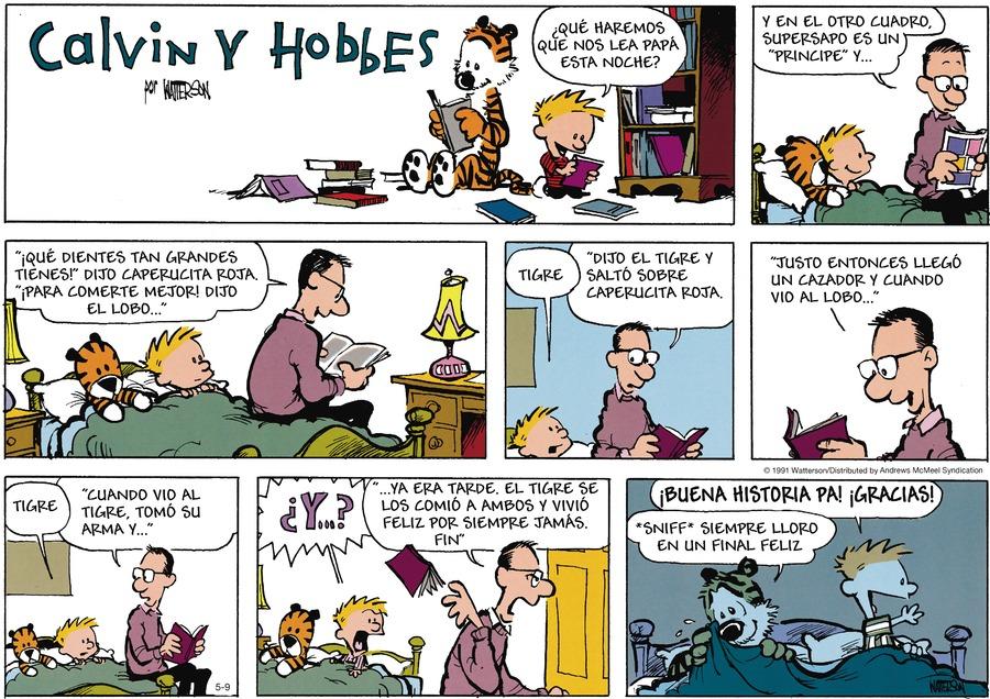 Calvin and Hobbes en Español by Bill Watterson on Sun, 09 May 2021