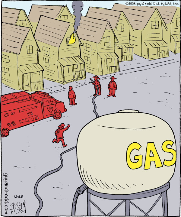 Brevity for Dec 23, 2008 Comic Strip