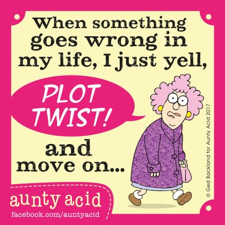 Aunty Acid for Aug 20, 2017 Comic Strip