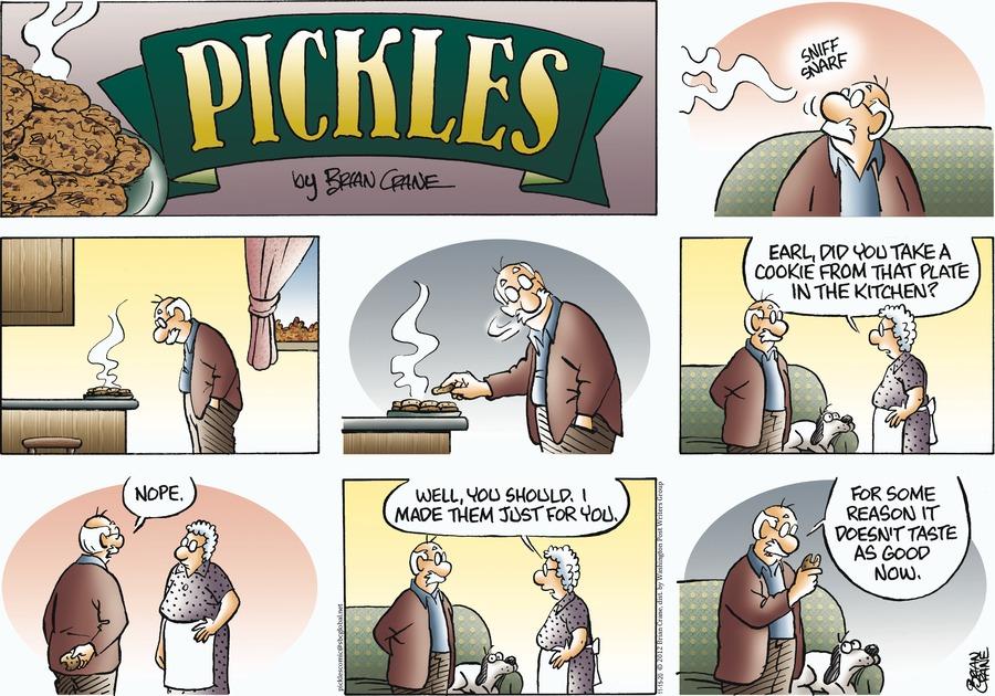 Pickles Comic Strip for November 15, 2020