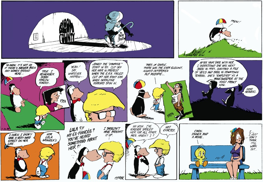 Bloom County for Jul 24, 1988 Comic Strip