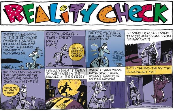 Reality Check on Sunday November 4, 2018 Comic Strip