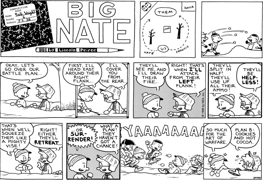 Big Nate: First Class by Lincoln Peirce on Sun, 14 Feb 2021