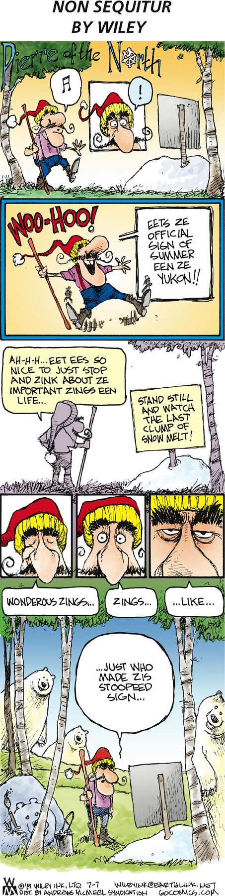 Non Sequitur Comic Strip for July 07, 2019