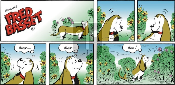 Fred Basset on Sunday September 29, 2019 Comic Strip