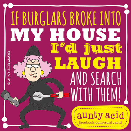 Aunty Acid Comic Strip for January 18, 2019
