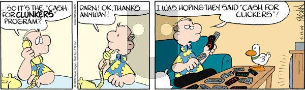 Drabble on Thursday September 17, 2009 Comic Strip