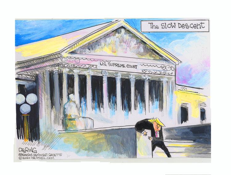 John Deering Comic Strip for July 10, 2020