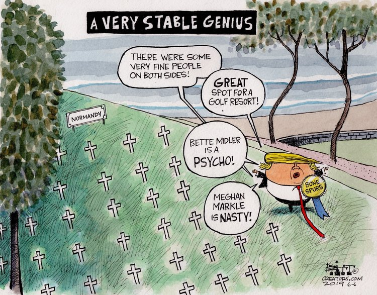Chris Britt Comic Strip for June 06, 2019