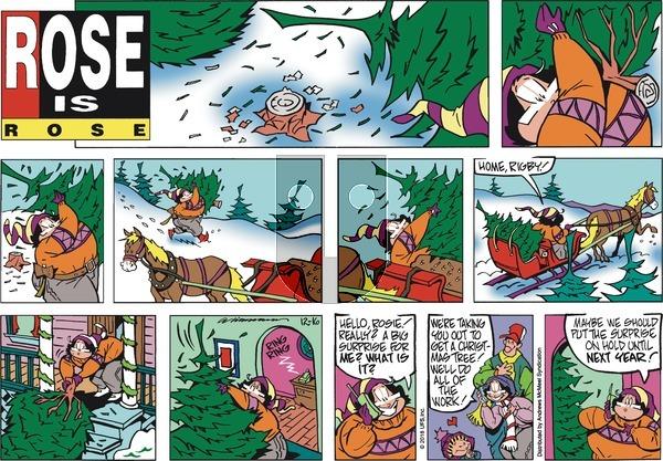 Rose is Rose on Sunday December 16, 2018 Comic Strip