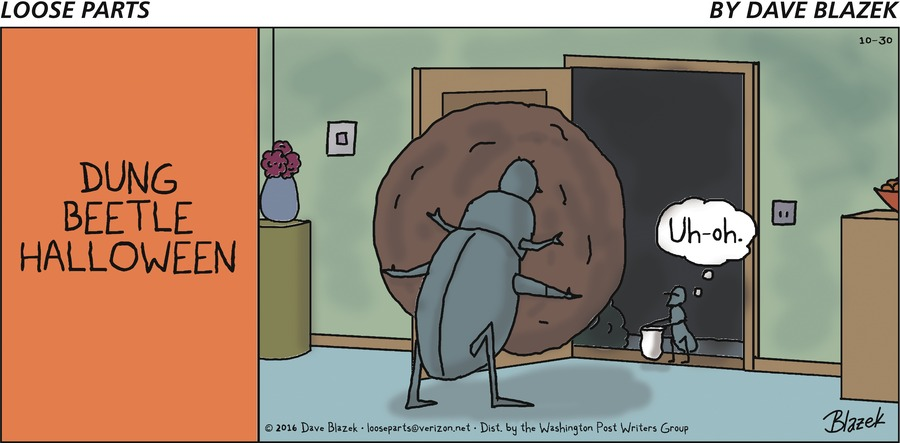 Loose Parts Comic Strip for October 30, 2016