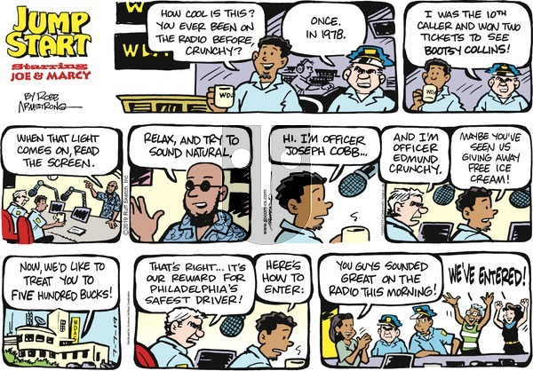 JumpStart on Sunday July 7, 2019 Comic Strip