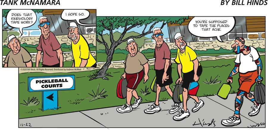 Tank McNamara Comic Strip for November 22, 2020