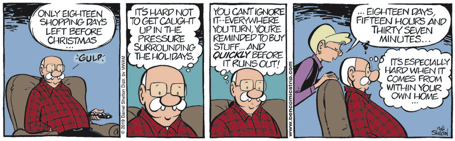 Ben Comic Strip for December 06, 2019