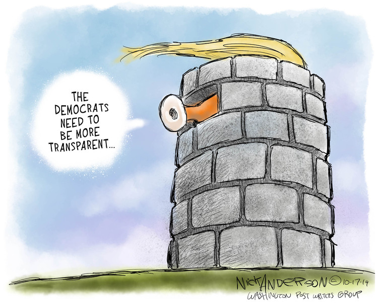 Nick Anderson Comic Strip for October 17, 2019