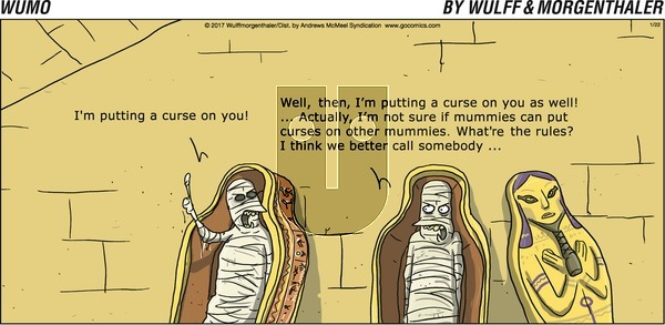 WuMo on Sunday January 22, 2017 Comic Strip