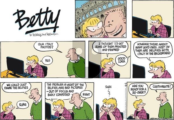 Betty on December 2, 2018 Comic Strip