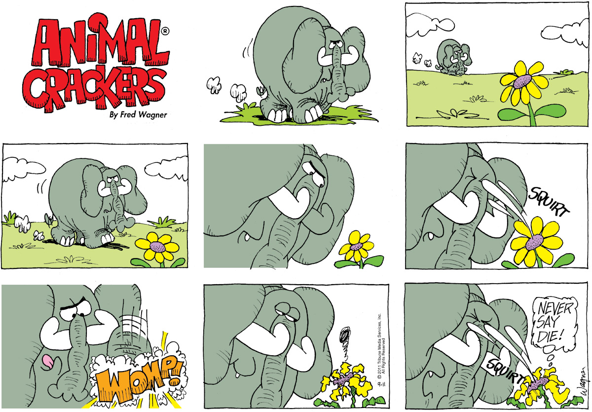 Animal Crackers Comic Strip for September 11, 2011
