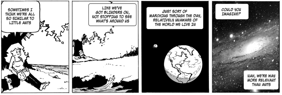 Ordinary Bill Comic Strip for April 18, 2013