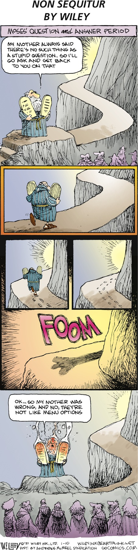 Non Sequitur Comic Strip for January 10, 2021