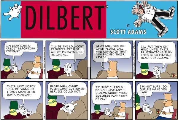 Dilbert - Sunday August 8, 2004 Comic Strip