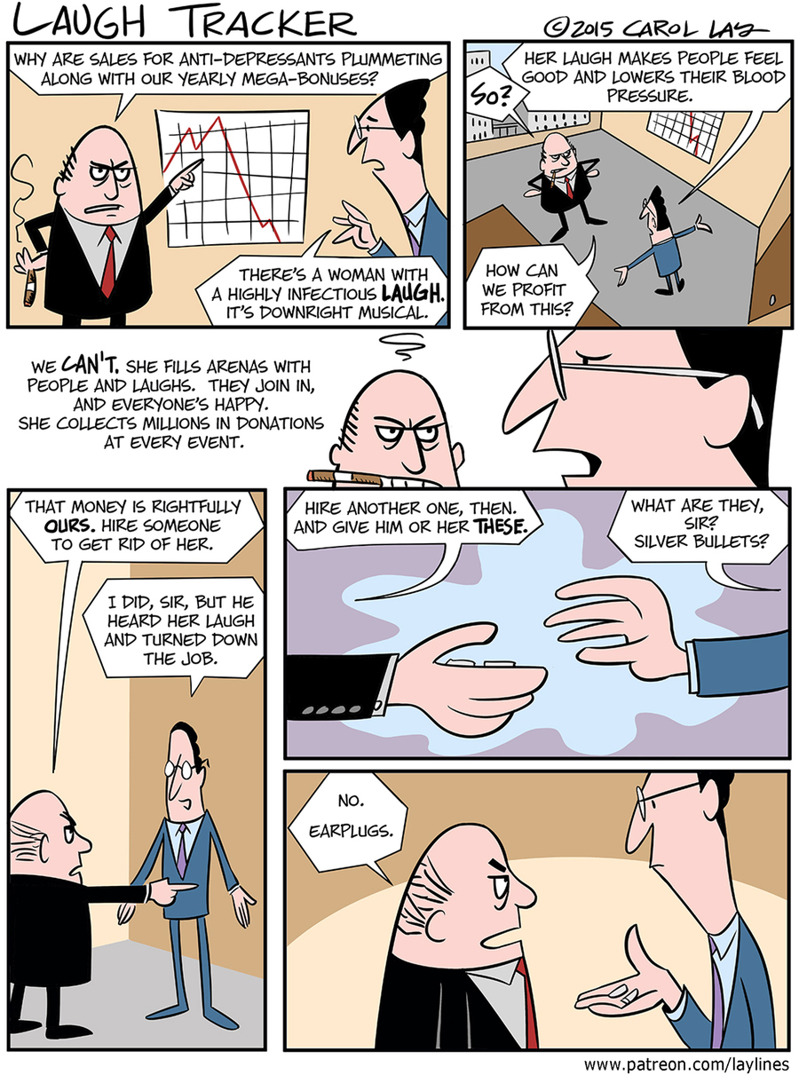 Lay Lines Comic Strip for September 20, 2015