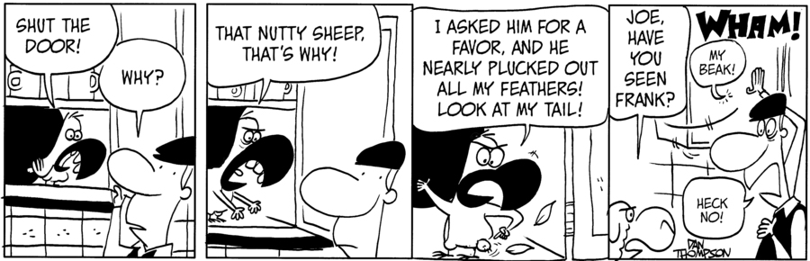 Lost Sheep Comic Strip for July 23, 2021