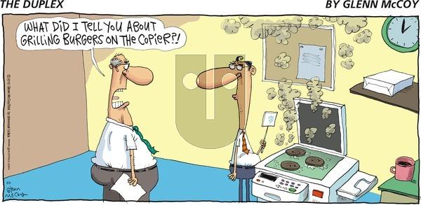 The Duplex on Sunday August 9, 2015 Comic Strip