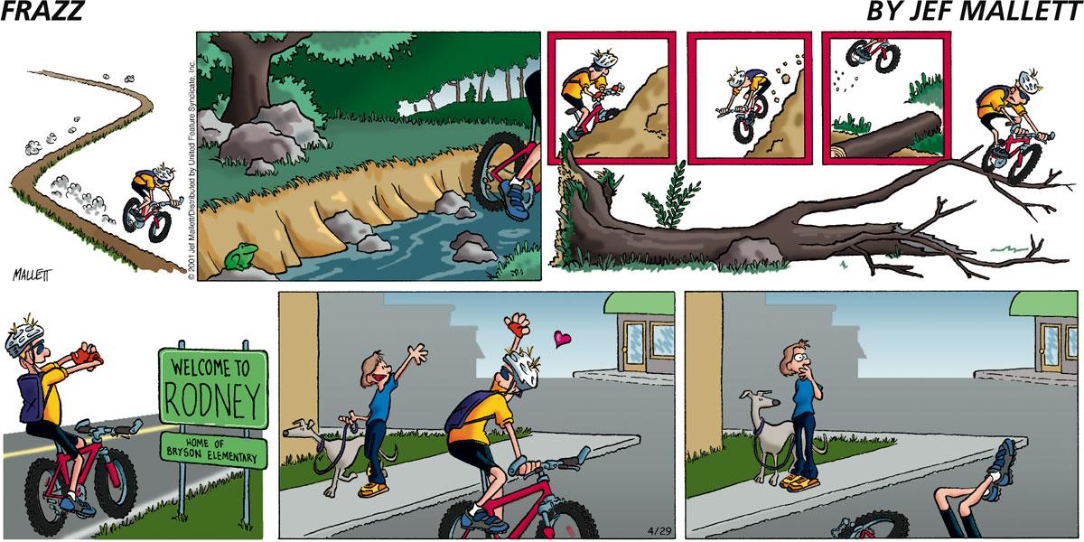 Frazz for Apr 29, 2001 Comic Strip