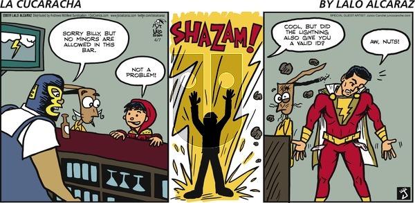 La Cucaracha on Sunday April 7, 2019 Comic Strip